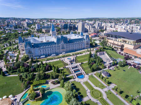 Iasi city centre, Moldova, Romania