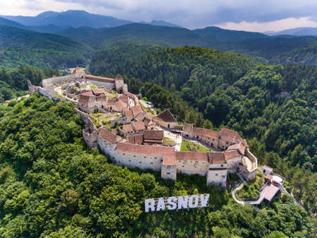 Rasnov Fortress Transylvania Editorial