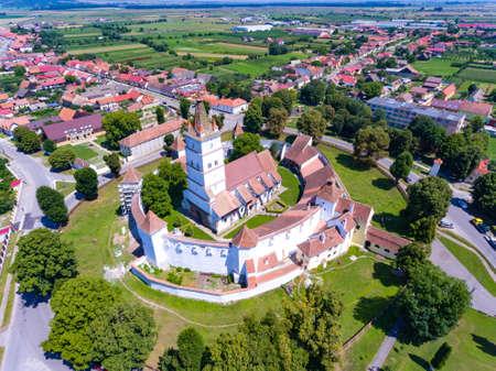 Harman Fortified Church near Brasov, Romania