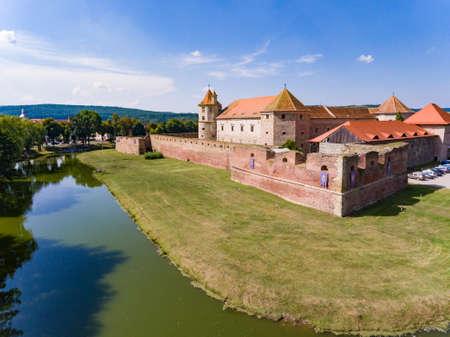Cetatea Fagaras medieval fortress in Brasov county Romania