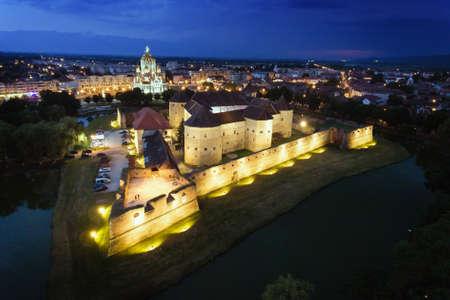 Fagaras Fortress Brasov Transylvania Romania Editorial