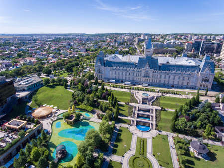 Iasi city centre, Moldova, Romania