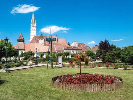 Medias Town Square, Romania, Transylvania
