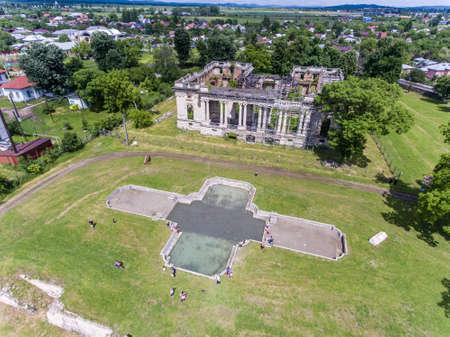 constantin: Constantin Cantacuzino Palace, the copy of the Trianon, in Floresti, Prahova, Romania