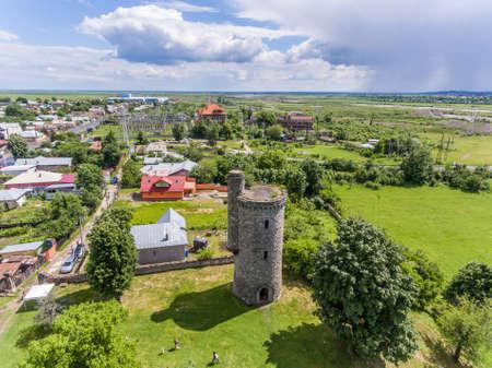 constantin: Cantacuzino water tower in Floresti, Prahova, Romania Stock Photo