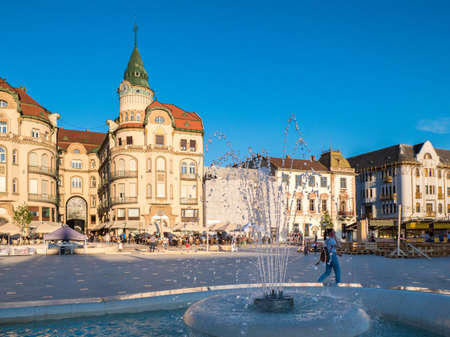 Oradea city center Nagyvarad