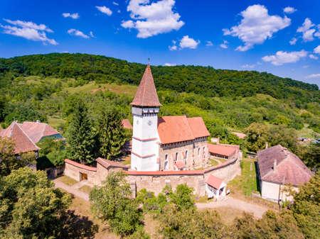 Mesendorf Saxon Fortified Church near Brasov, Transylvania, Romania