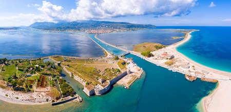 Lefkada Island Panorama aerial view