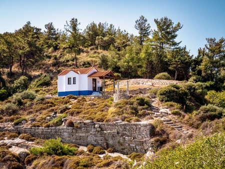 Small church near Thasos Town limenas