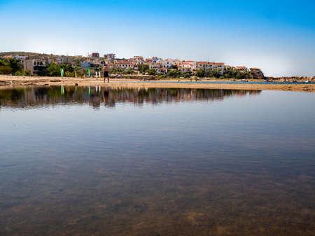 Skala Marion beach in Thassos, Greece