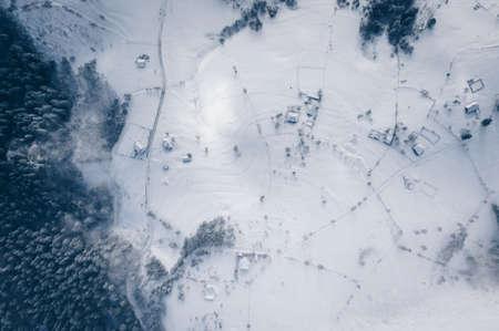 Winter in Transylvania, Romania