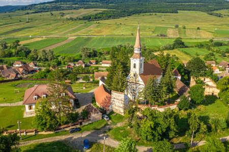 Crit (also Deutsch Kreuz) German Saxon Village in Transylvania, Romania