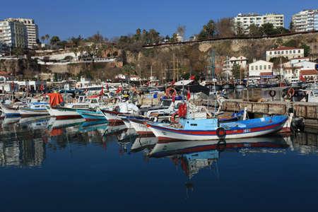 Ships in Antalya Turkey
