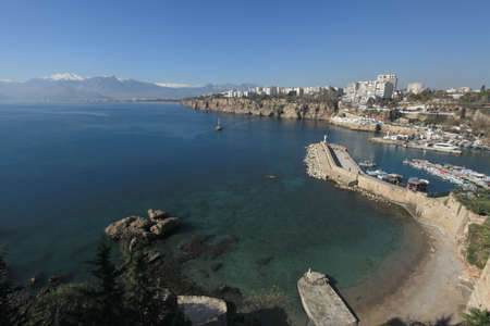 City and Coastline of Antalya photo