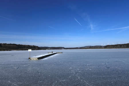 Frozen Lake Stock Photo - 20633879