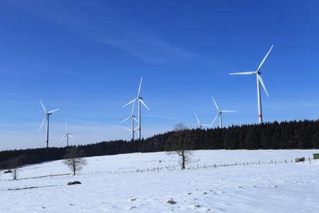 Wind turbine in Germany photo