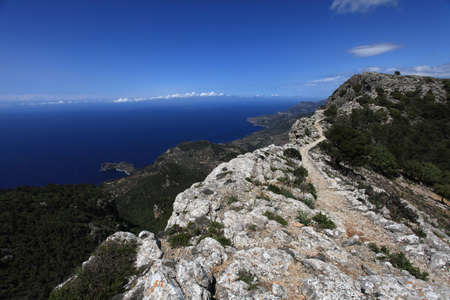 mallorca: Mallorca Mountains Stock Photo