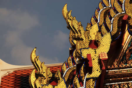 tranquil: Thai Temple Stock Photo