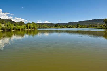 seneca: The calm waters of Seneca Lake Arizona.