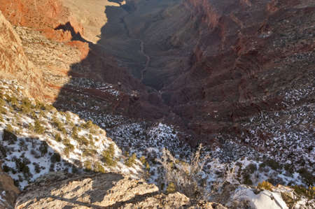 chasm: A deep chasm in the Grand Canyon known as the Abyss.