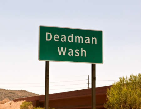 implication: A strangely named dry creek in Arizona that implies that you can wash the dead here.