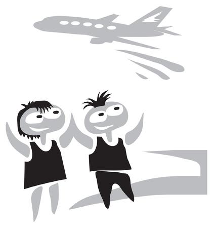 Education, travel, study. Illustration. Ilustração