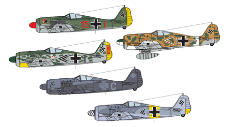 Aircraft color scheme.
