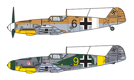 Aircraft color scheme. Illustration 矢量图像