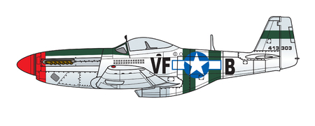 Aircraft color scheme. Illustration 일러스트