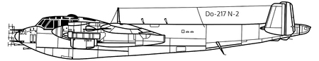 Aircraft profiles. Technical illustration