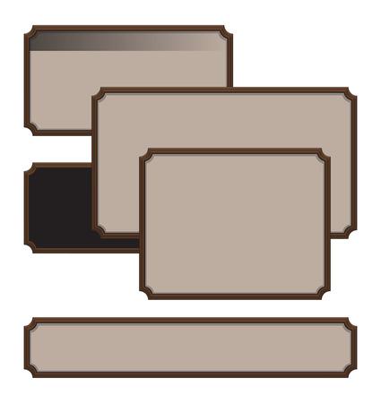 frame collection. vector set