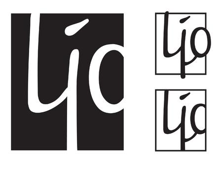 mans face. Logo template, vector graphic element Ilustrace