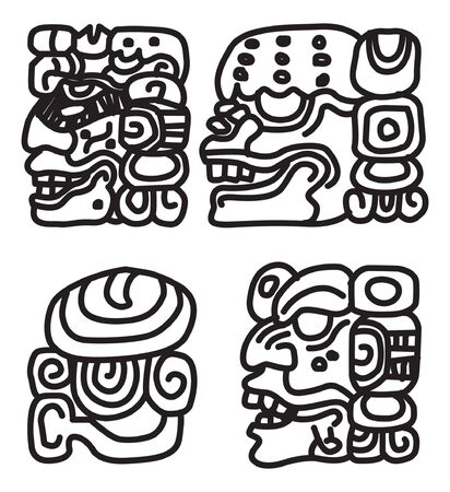 maya ornament.