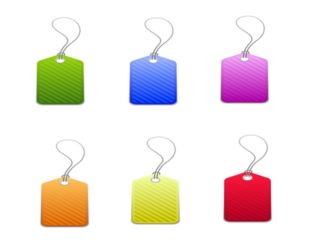 colorful sale label and icon backround