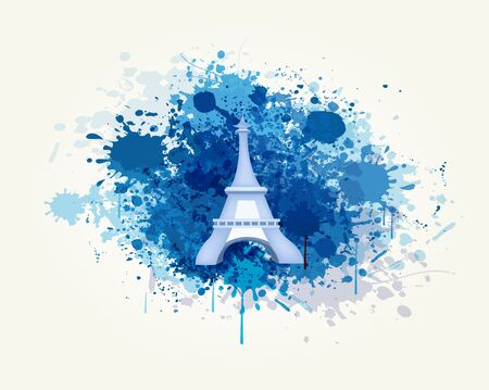 Decorative Travel and Splash Vector Backround Stock Vector - 18387783