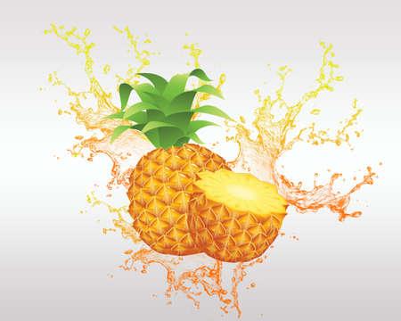 healty eating: fresh fruit and fruit juice backround