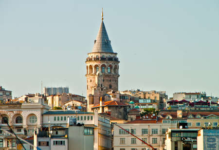 Photo of Galata Tower in  Istanbul Stock Photo - 20069021