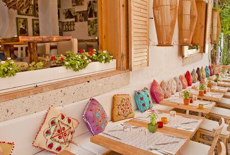 Beautiful Stone Street in Alaçati   izmir,Turkey Stock Photo - 21901482