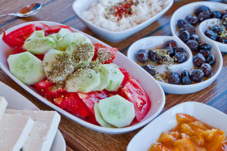 Delicious and Fresh Aegean Breakfast photo