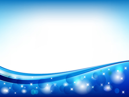 Blue Abstract Vector Backround