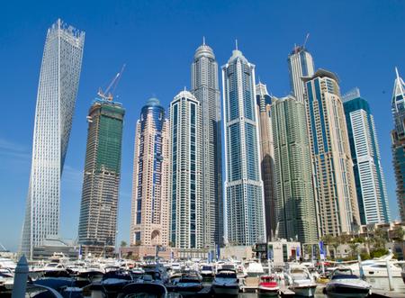 untied: Dubai Marina, desatados �rabes Unidos