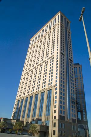 Skyline in Dubai Editorial
