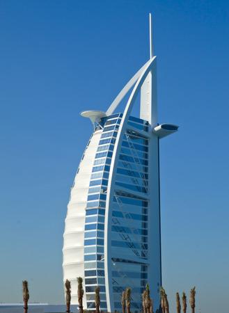 Burj Al Arab Hotel in Dubai, United Arab Emirates