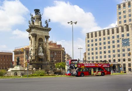 Espanya Square in Barcelona