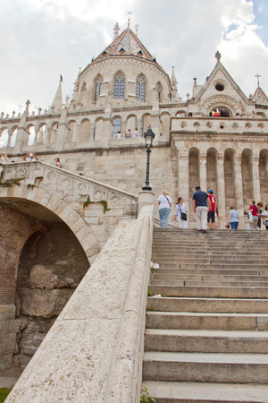 bastion: Fishermans Bastion,Budapest Hungary