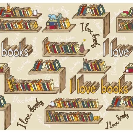 books seamless