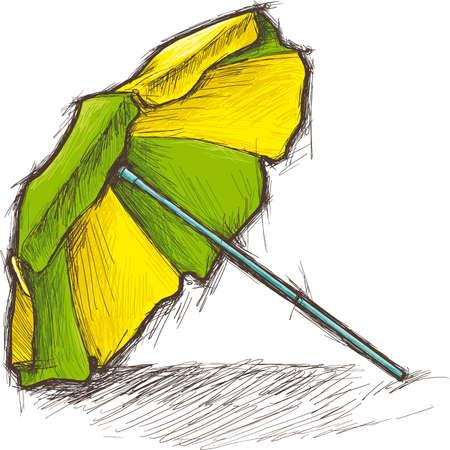 sonnenschirm: Strand-Sonnenschirm