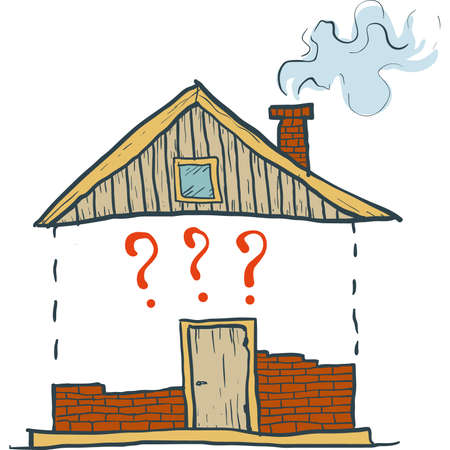 building a house Vector