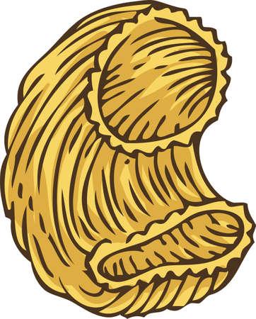 furrow: Italian Pasta. Pipe Rigate
