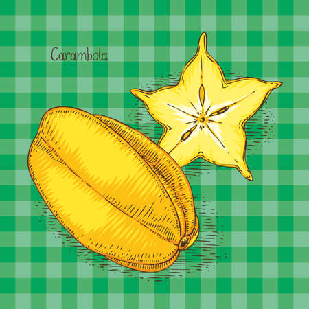 Ripe Yellow Carambola